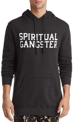 Spiritual Gangster Varsity Fleece Hooded Sweatshirt