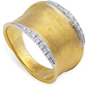 Marco Bicego 18K Yellow Gold Lunaria Diamond Ring