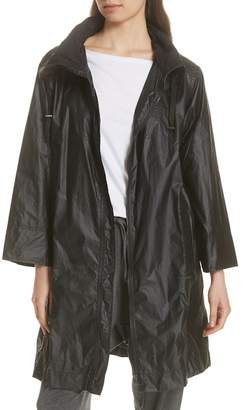 Eileen Fisher Long Organic Cotton Jacket