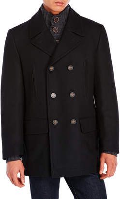 Lauren Ralph Lauren Black Double-Breasted Coat