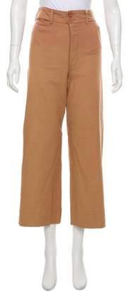 Apiece Apart Merida High-Rise Wide-Leg Pants
