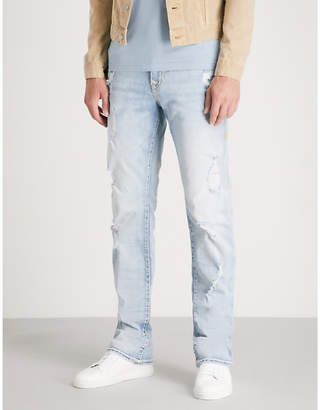 True Religion Ricky Flap relaxed straight-fit straight jeans