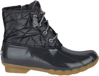 Sperry Top Sider Saltwater Shiny Quilted Nylon Boot - Women's
