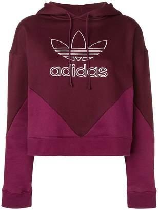 adidas CLRDO cropped hoodie