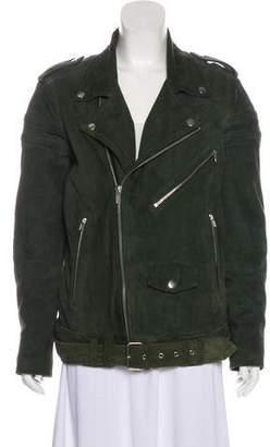 BLK DNM Moto Suede Jacket w/ Tags