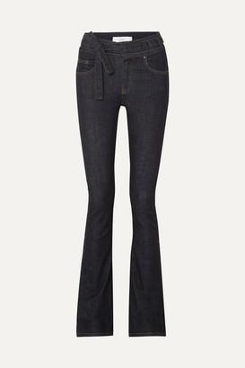 Victoria Victoria Beckham Victoria, Victoria Beckham - High-rise Flared Jeans - Mid denim