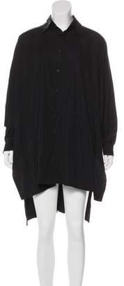 eskandar Oversize T-Shirt Dress