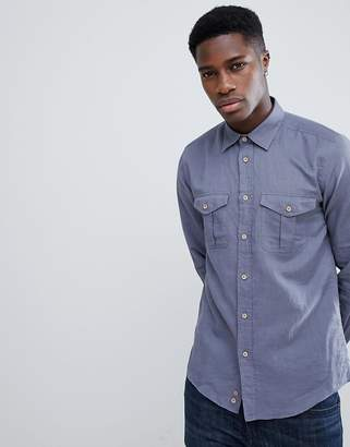 Benetton Linen Mix Shirt