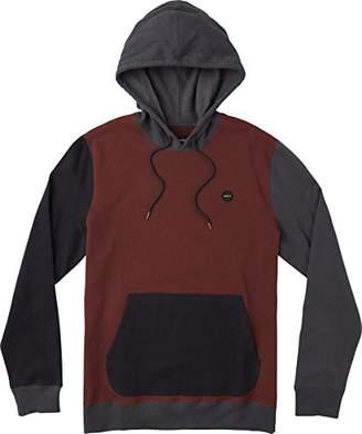 RVCA Men's RUDDY Hooded Fleece Sweatshirt