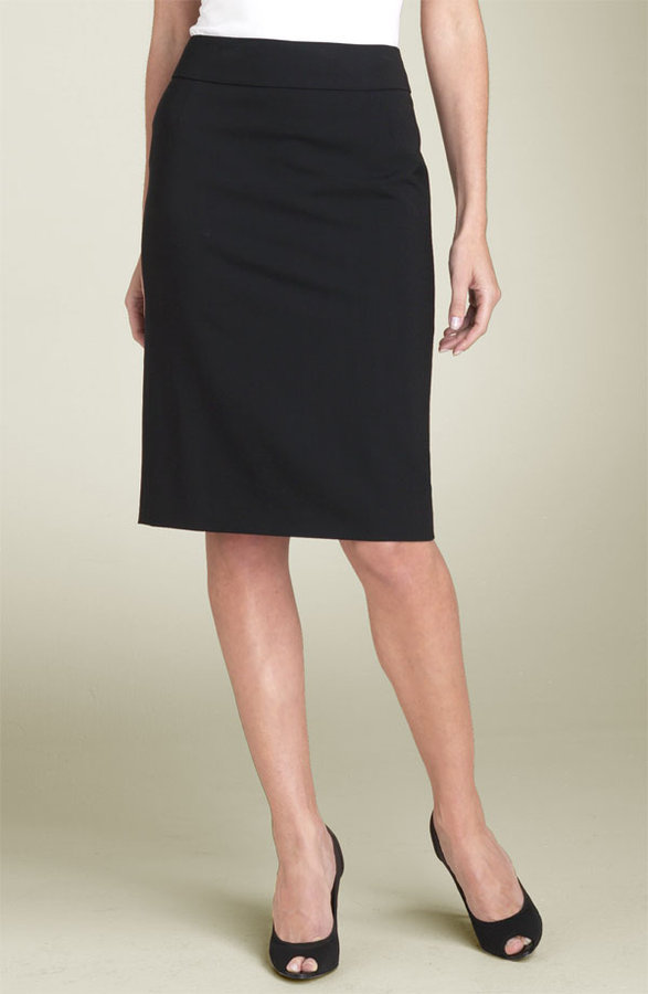 BOSS Black 'Veronice' Signature Skirt