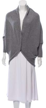 Lanvin Wool Dolman Sleeve Cardigan Grey Wool Dolman Sleeve Cardigan