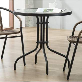 Highland Dunes Bemadette Round Patio Bistro Table