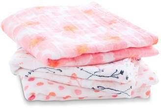 Aden Anais Aden + Anais Petal Bloom Muslin Cloths (Pack of 3)