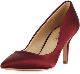 Charles by Charles David Sasha Satin Point-Toe Pumps