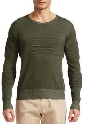 Saks Fifth Avenue MODERN Ribbed Crewneck Sweater