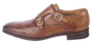 Magnanni Tabaco Double Monk Strap Shoes