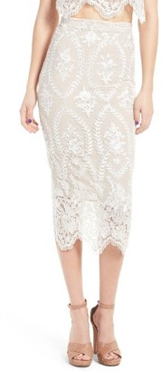 Women's Stone Cold Fox Brinkley Midi Skirt $250 thestylecure.com