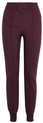 Yeezy Season 5 SEASON 5 Burgundy Slim-leg Sweatpants