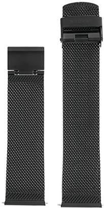 Skagen SKB6066 21mm Stainless Steel Black Watch Strap