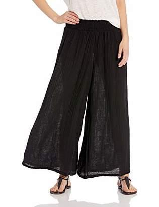 Michael Stars Women's Double Gauze Wide Leg Pant