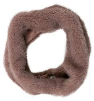 Pologeorgis Mink Fur Snood