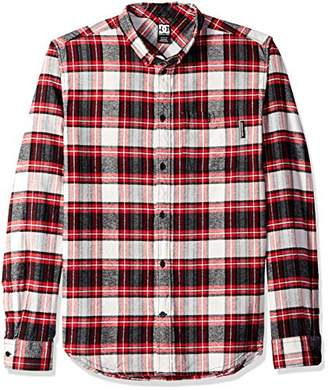 DC Men's Northboat Long Sleeve Flannel Shirt