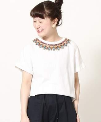 Coen (コーエン) - coen 【Market】 エンブロイダリーTシャツ(刺繍Tシャツ)II