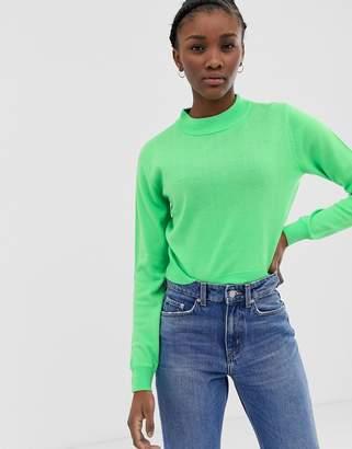 Asos Design DESIGN fine knit crop jumper