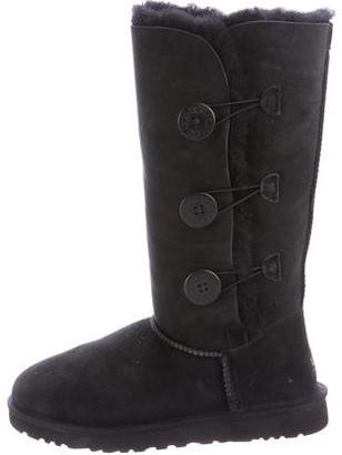 UGG Australia Bailey Button Boots $130 thestylecure.com