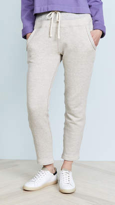 James Perse Contrast Band Sweatpants