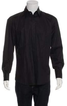Dolce & Gabbana Woven French Cuff Shirt