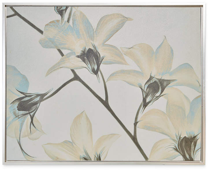 Jla Home Madison Park Signature White Lilies Framed Canvas Print