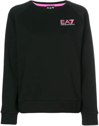 Emporio Armani Ea7 logo print sweatshirt