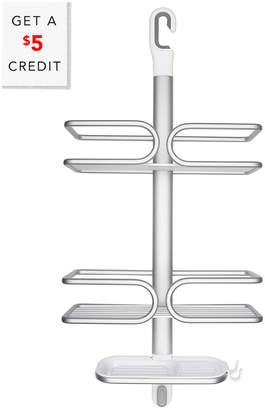 OXO Aluminum 3-Tier Shower Caddy