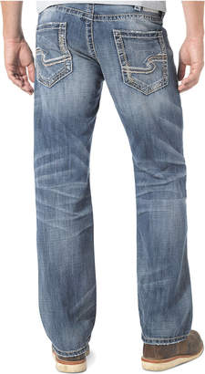 Silver Jeans Co. Men Zac Relaxed Fit Straight Jeans