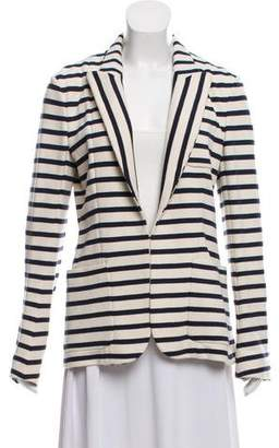 Faith Connexion Striped Peak-Lapel Blazer