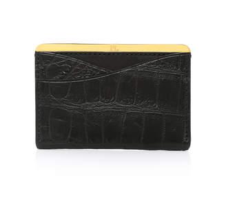 Lee Passavant and No. 25 Crocodile Card Case