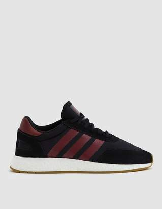 adidas I-5923 Sneaker in Black/Collegiate Burgundy
