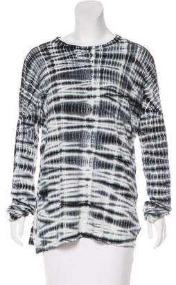 Proenza Schouler Tie-Dye Long Sleeve Top