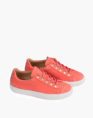 Madewell Unisex Koio Gavia Albicocca Low-Top Sneakers in Apricot Leather
