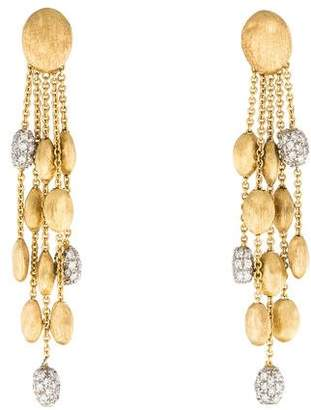 Marco Bicego 18K Siviglia Diamond 5-Strand Drop Earrings