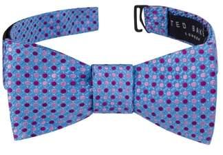 Ted Baker Alternating Dot Silk Bow Tie
