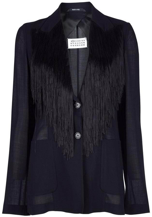 Maison Martin Margiela Fringed jacket