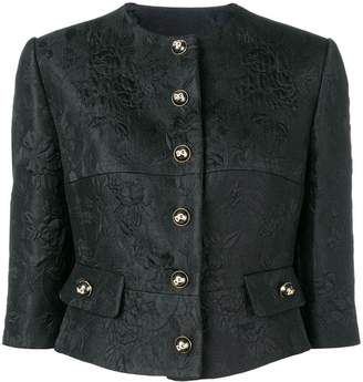Dolce & Gabbana cropped button jacket