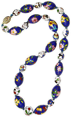 One Kings Lane Vintage Chinese Cloisonné Necklace
