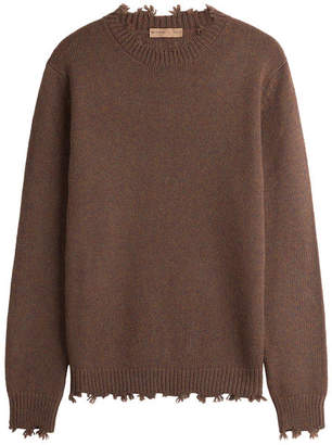 Etro Distressed Cashmere Pullover