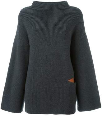 Stella McCartney oversize cut out jumper