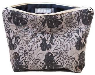 Lucy Engels Large Makeup Bag Tropical Grey