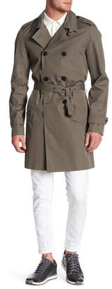 The Kooples Double-Breasted Trench Coat $665 thestylecure.com