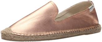 Soludos Women's Tulip Lace Smoking Slipper